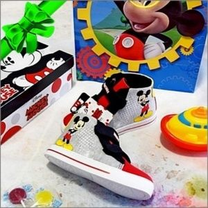 DISNEY Mickey High Top Sneakers #f8o69k04a17p16